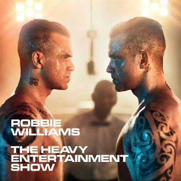 ROBBIE WILLIAMS - HEAVY ENTERTAINMENT  SHOW (CD 2016) NEW N SEALED